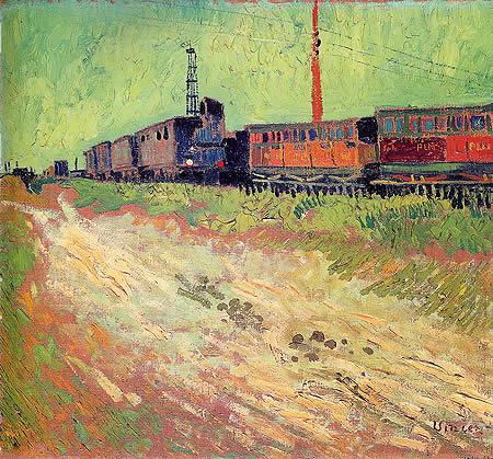 Wagons de chemin de fer (1888)