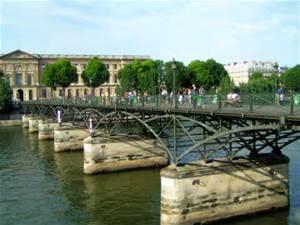 Le Pont des Arts avant...