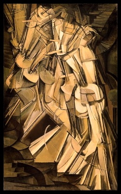 15- duchamp nu descendant l'escalier 1912