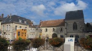 Vue depuis la place de la cathédrale