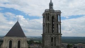 Cathédrale, vue depuis une des tours de façade