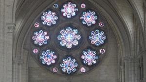 Cathédrale, rosace intérieure