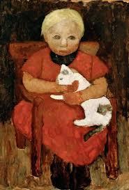 enfant avec chat