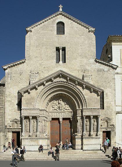 Arles_kirche_st_trophime_fassade