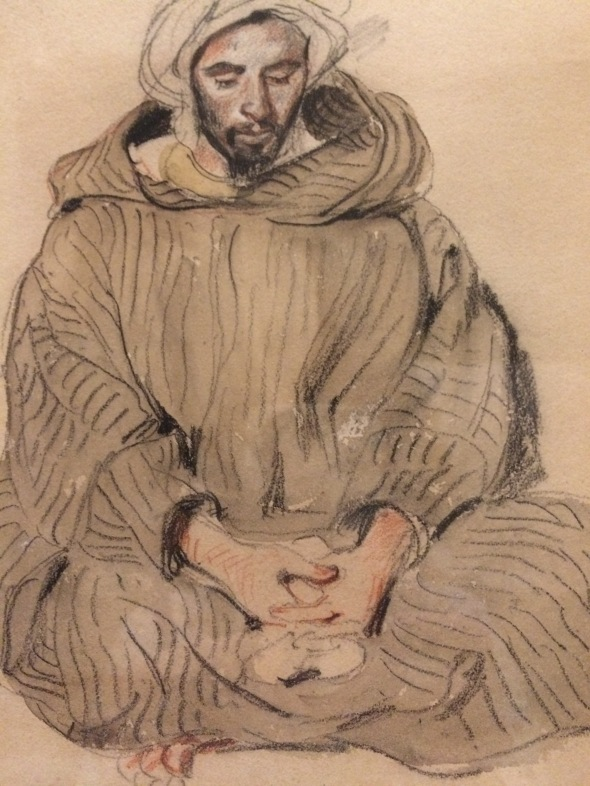 Delacroix Arabe