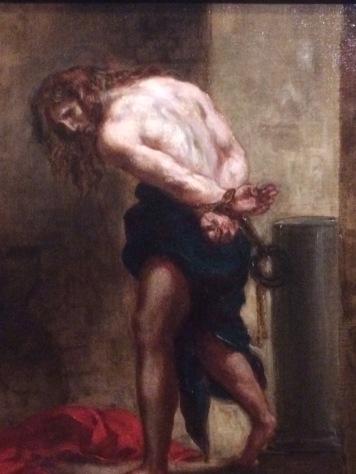 Delacroix christ à la colonne
