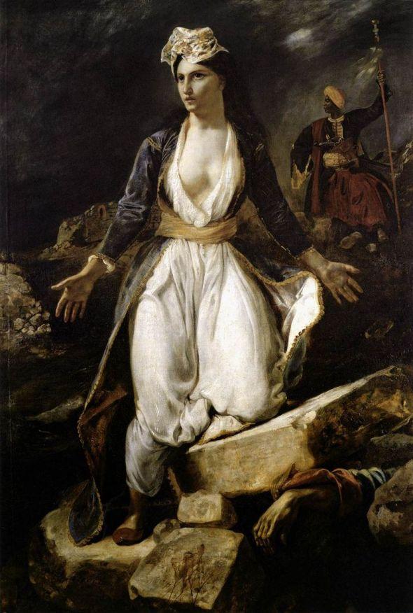 Delacroix la Grèce