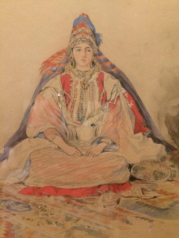 Delacroix Mariée juive