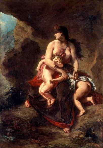 Delacroix Médée furieuse